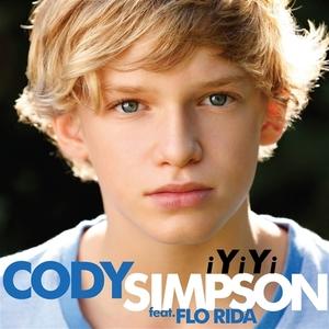 Коди Симпсън на корицата на сингъла iYiYi - дует с Flo Rida