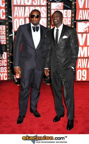 Akon and Timbaland