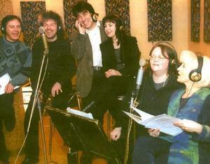 Фамилия Тоника по време на записа на албума