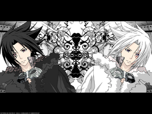 Allen and Sasuke