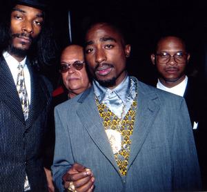 Tupac and Snoop Doggy Dogg