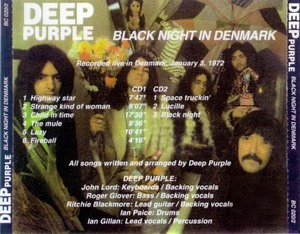 Deep Purple - Live in Denmark 1972