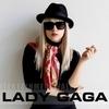 Lady Gaga в черно